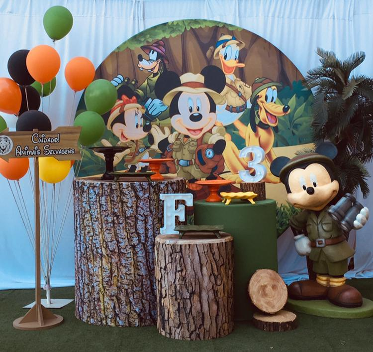 Tema Mickey Safari 2
