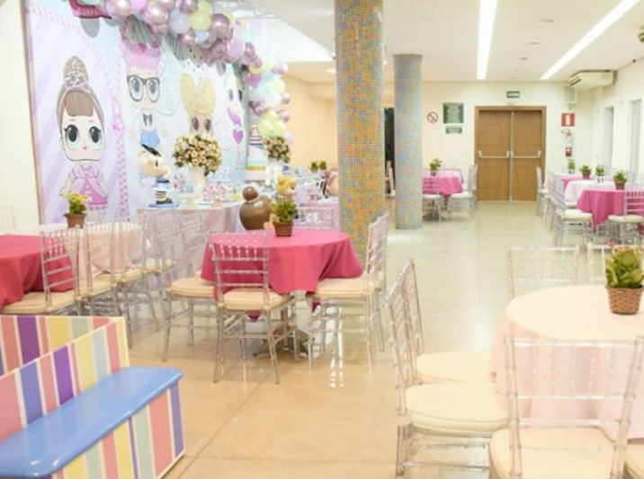 Encantar Festa Infantil Funcionários