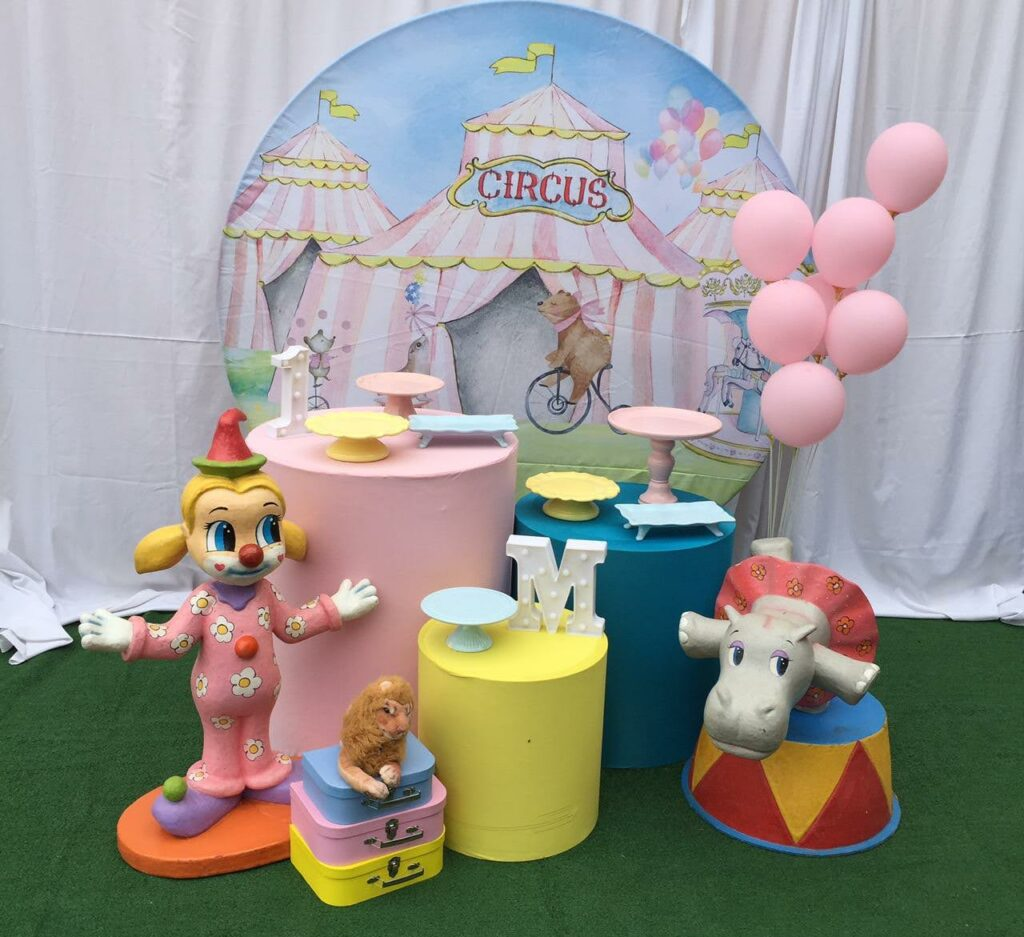 Tema Circo Candy Color