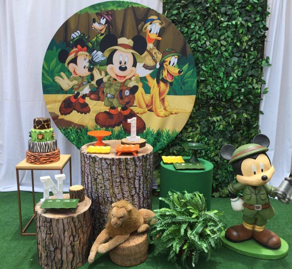 Decoração Mickey no Safari