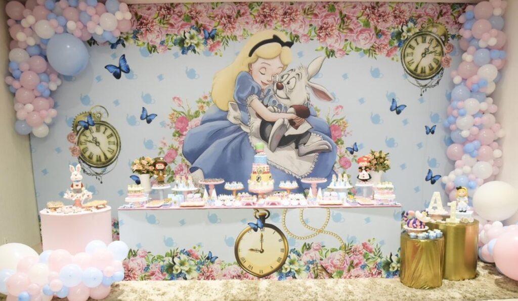 Tema Alice no País das Maravilhas