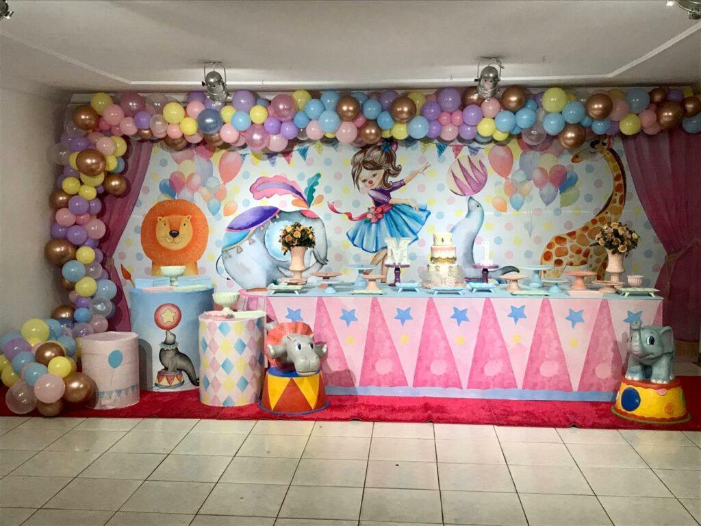 Tema Circo Candy Color