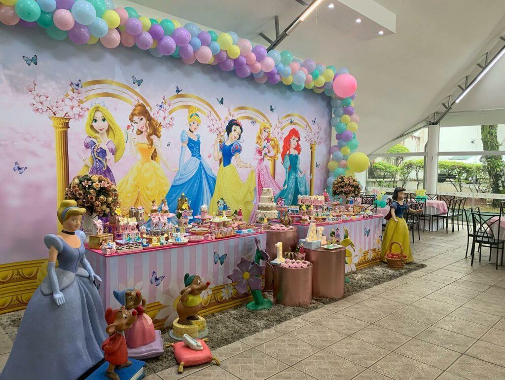 Tema Princesas da Disney