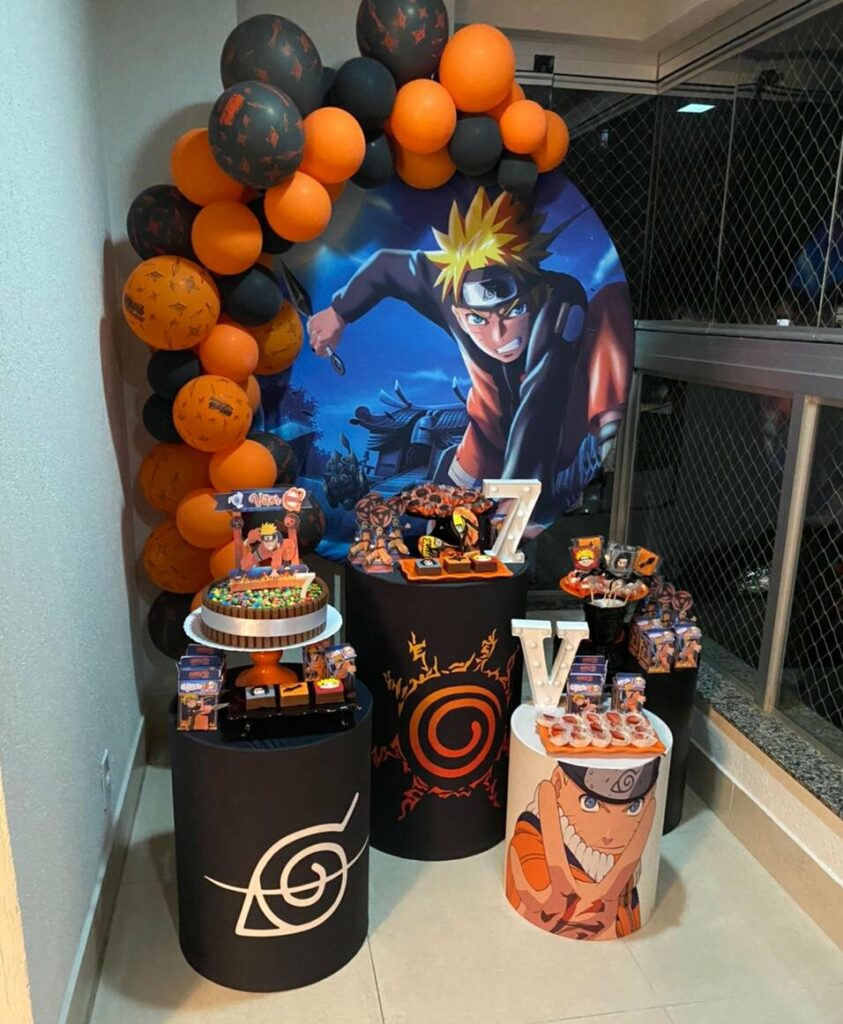 Decoração Naruto